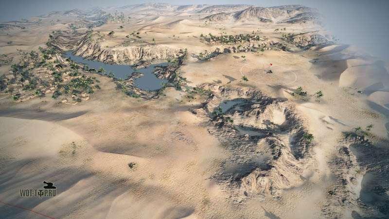 Песчаная река