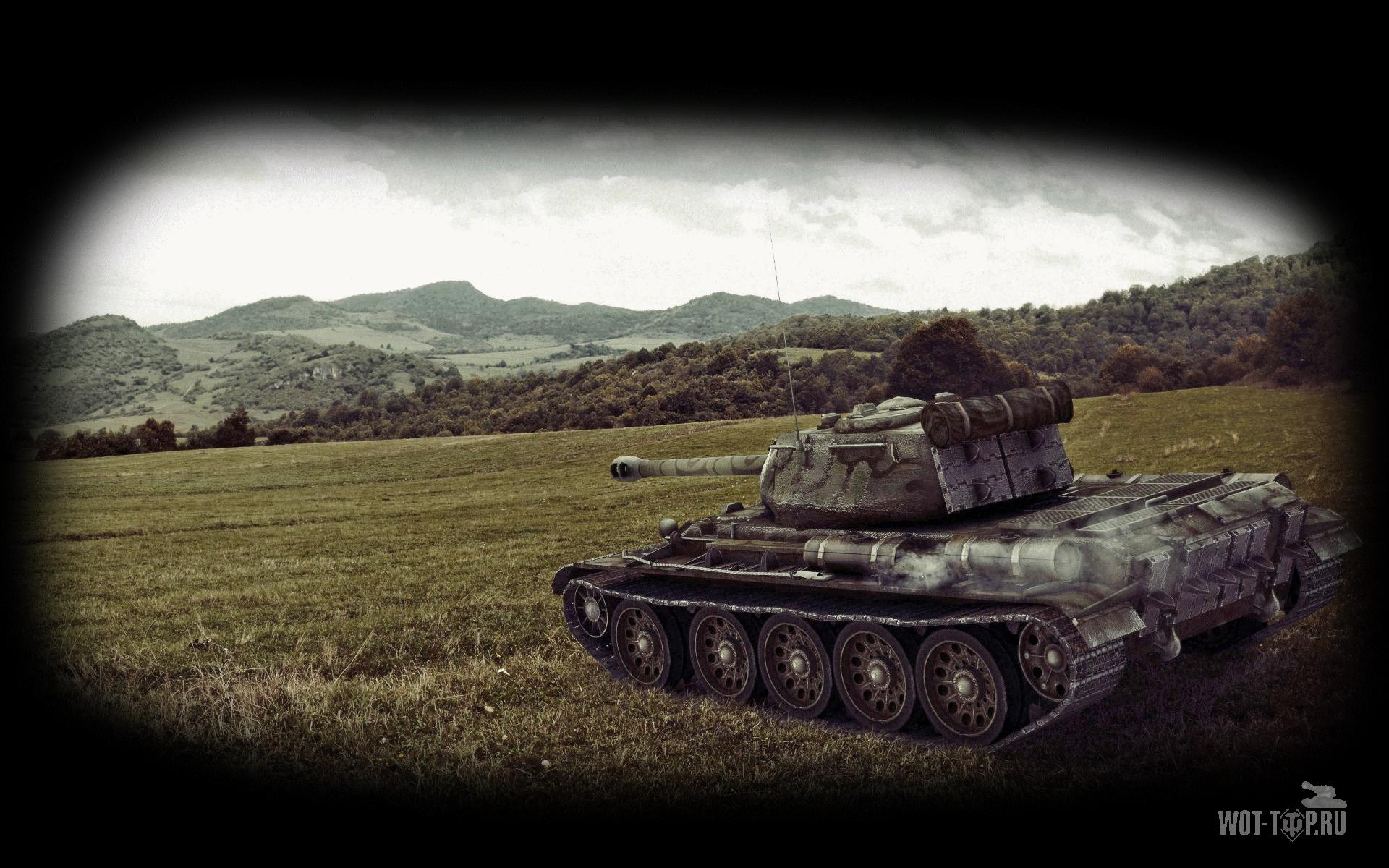 В стиле танкового арта