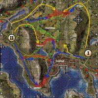 Карта Фьорды WOT тактика