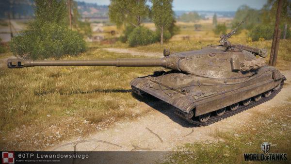 Танк 60TP Lewandowskiego